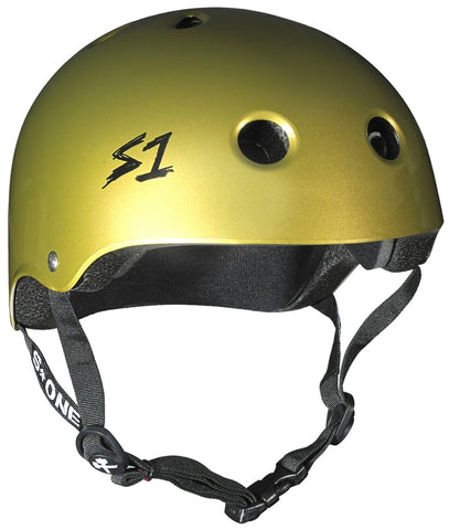 S-One Lifer Helmet Metallic Gold