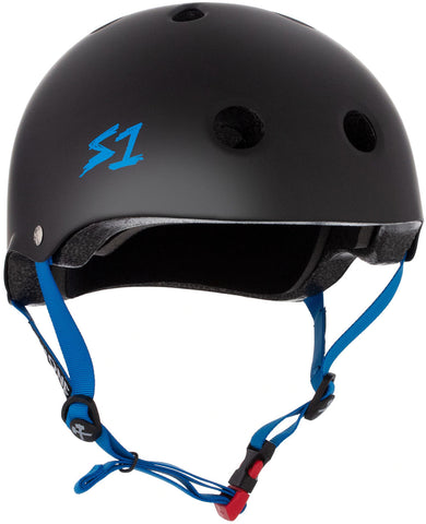 S-One Mini Lifer Helmet Black/Cyan
