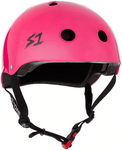 S-One Mini Lifer Helmet Hot Pink