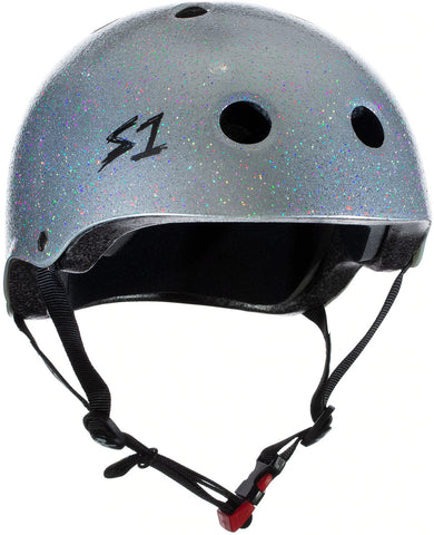 S-One Mini Lifer Helmet Silver Glitter