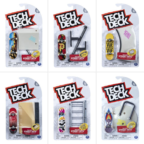 Tech Deck Street Hits Kit Assorted