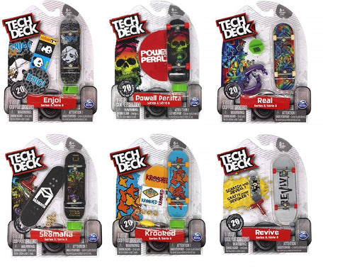 Tech Deck 96mm Skateboard Single Assorted