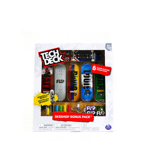 Tech Deck Skate Shop Bonus Pack Assorted