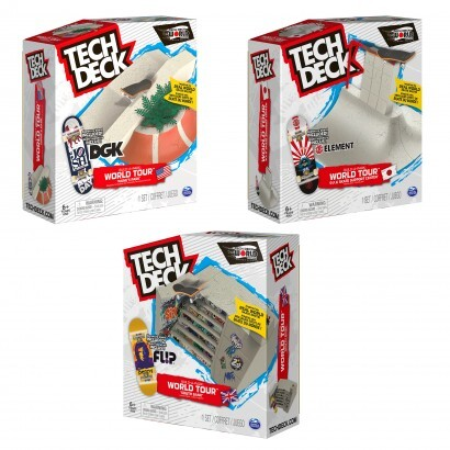 Tech Deck Build A Park World Tour Assorted