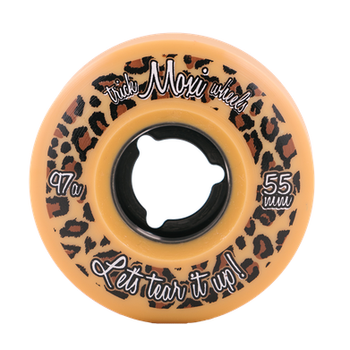Moxi Trick Wheels 55mm/97a Leopard 4 Pack