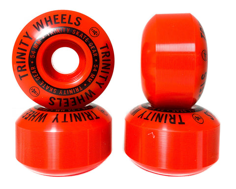 Trinity Wheels 54mm (100a) Red Round