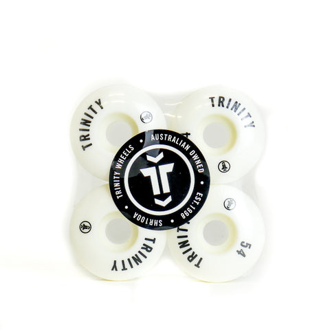 Trinity Wheels 53mm (100a) White