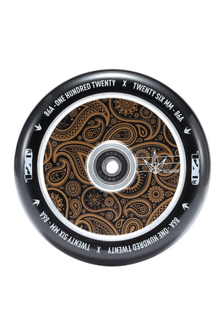 Envy Hollowcore Gold Bandana 120mm Scooter Wheel