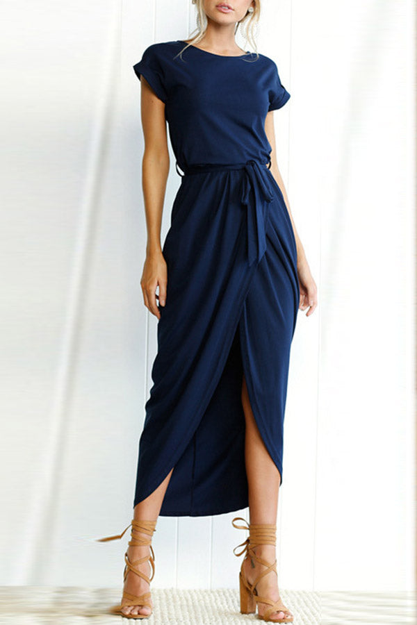 I Want It All Short Sleeves Midi Dress(6 colors)