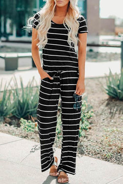 Striped Striped Jumpsuit