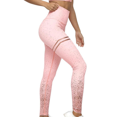 Dubai Metallic Ombre Leggings