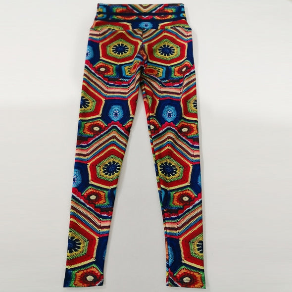Bethel Hypnotic Graphic Leggings