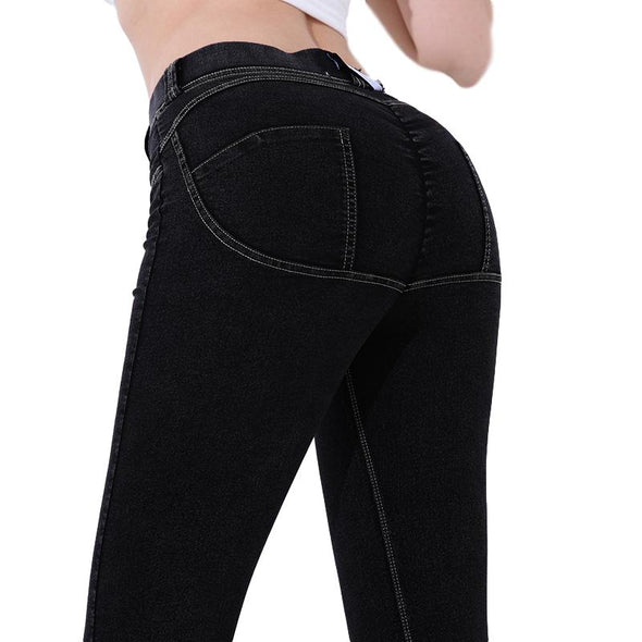 Valletta Low-Waist Push Up Jeggings