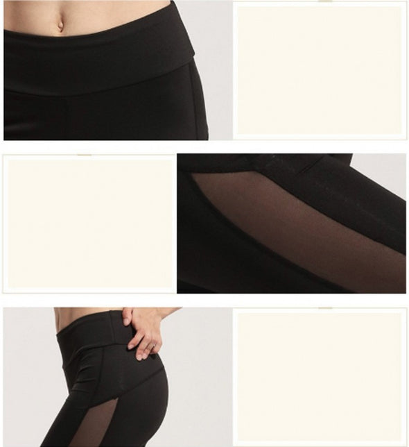 Sydney High-Waist Breathable Mesh Leggings