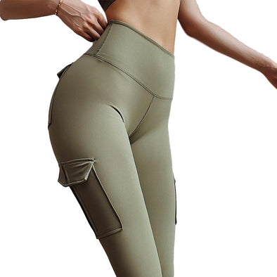 Moscow High-Waist Leggings With Pockets