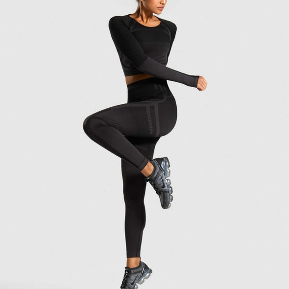 Alexandria High-Waist Compression Leggings