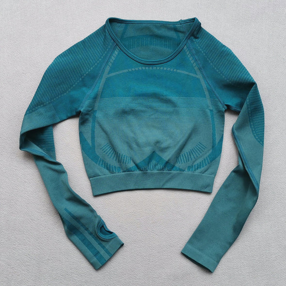 Alexandria Long Sleeve Compression Top