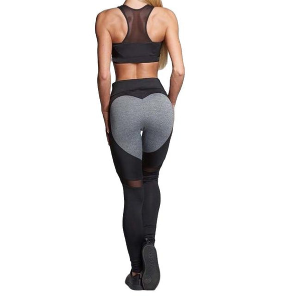 Paris High-Waist Love Leggings