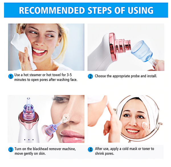 Blackhead + Pore Cleanser Vacuum