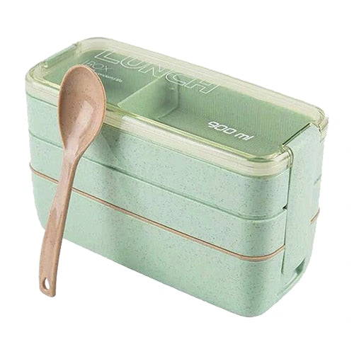 Eco-Friendly Anti-Leak Microwave-Safe Lunch Boxes