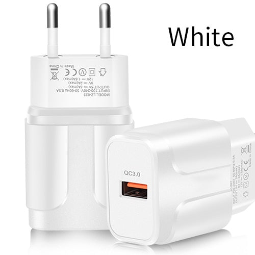 4x Fast Charging Universal Wall Adapter ( US / EU )
