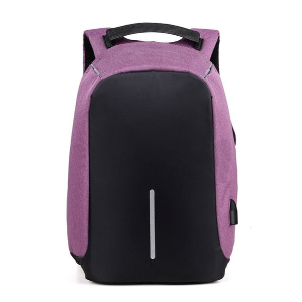 Sturdy Anti-Theft Travel Backpack - 100%  Pick Pocket Proof