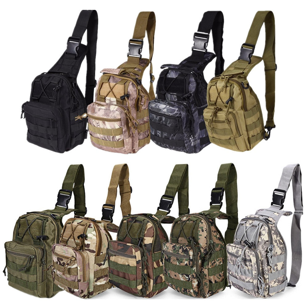 Single Shoulder Outdoor Tacticle Backpack