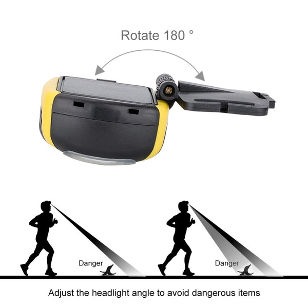 LED Headlamp For Outdoor Activities and Hostels