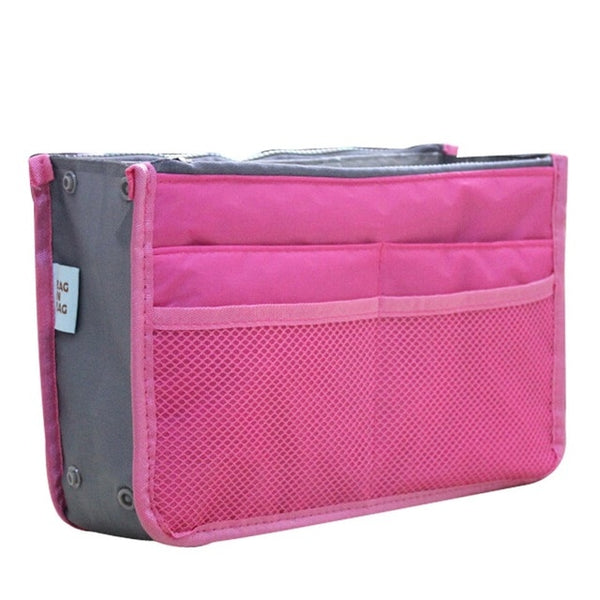 Miracle Handbag Organizer for Flight Necessities / Toiletries