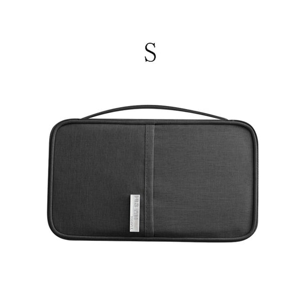 Travel Wallet Organizer for Passport, Documents, Cards, and More