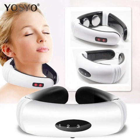 Infrared Heating Electric Pulse Neck Massager