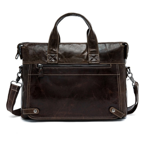 Genuine Leather Vintage Messenger Bag