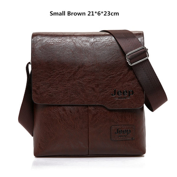 Men's Leather Vintage Messenger Bag