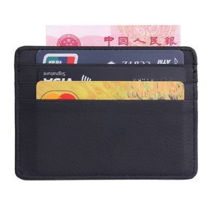 Durable Leather Card Holder
