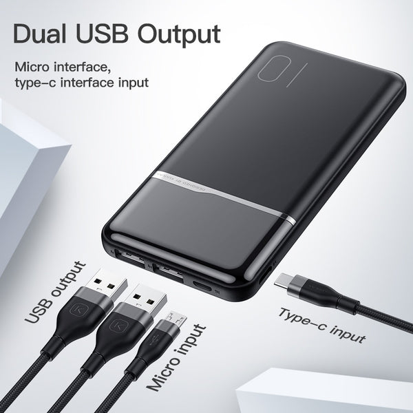 Extreme Fast Charging 10000mAh Portable PowerBank