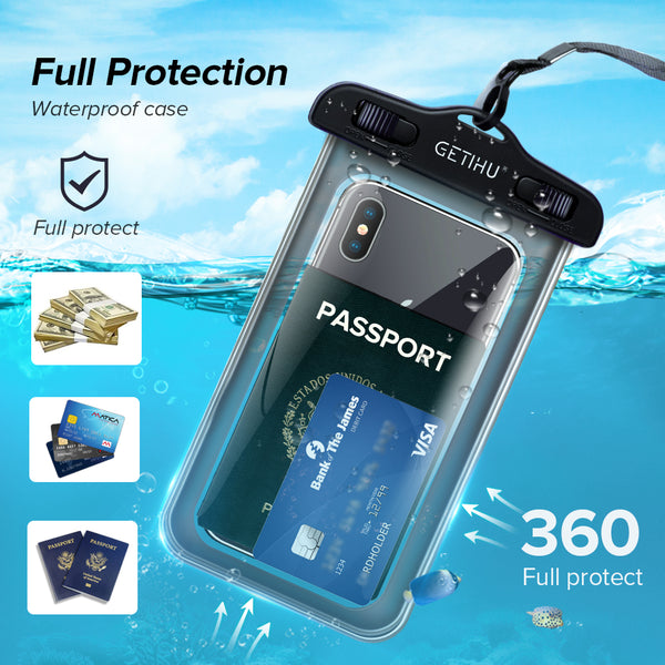 Touch Sensitive Waterproof Phone Pouch