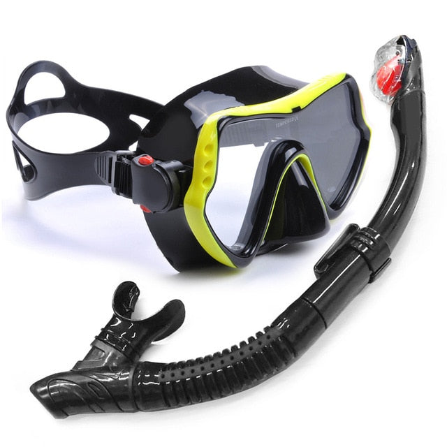Professional Snorkeling Mask with Tube Set