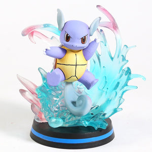Action Figure Pokemon - Charmeleon/Warturtle/Mew