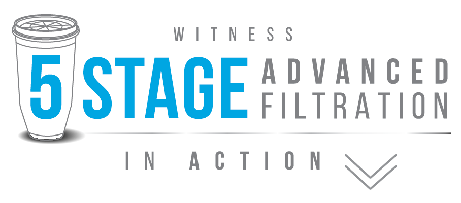 Witness 5 Stage Advanced Filtration In Action