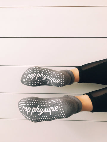 #Limited Edition Pop Socks: OG Slate Grey Pop Physique