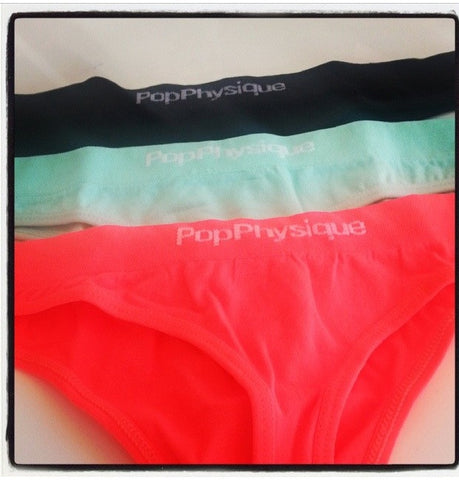 Intimates: popthong 3-pack