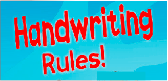 Primary-Handwriting Rules!