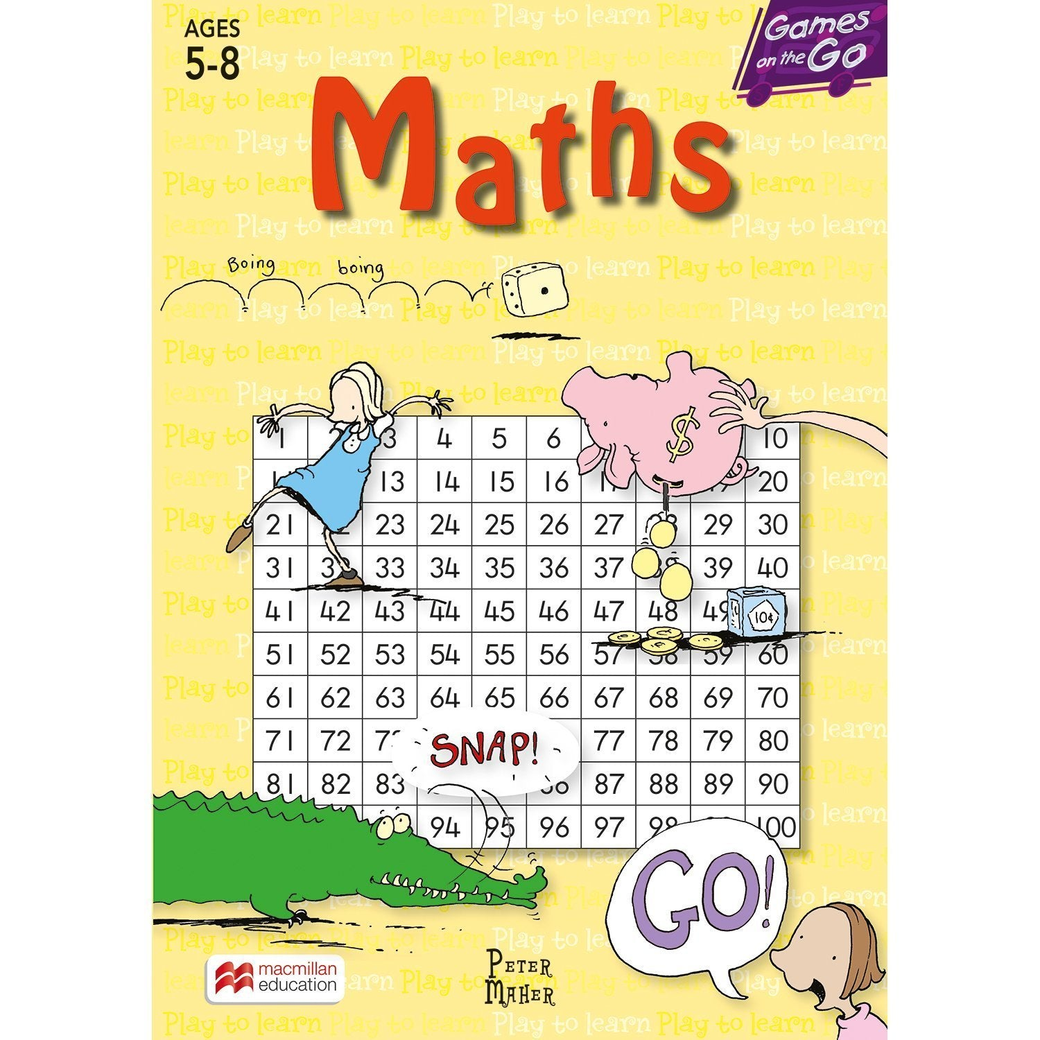 Games on the Go: Maths Age 5-8