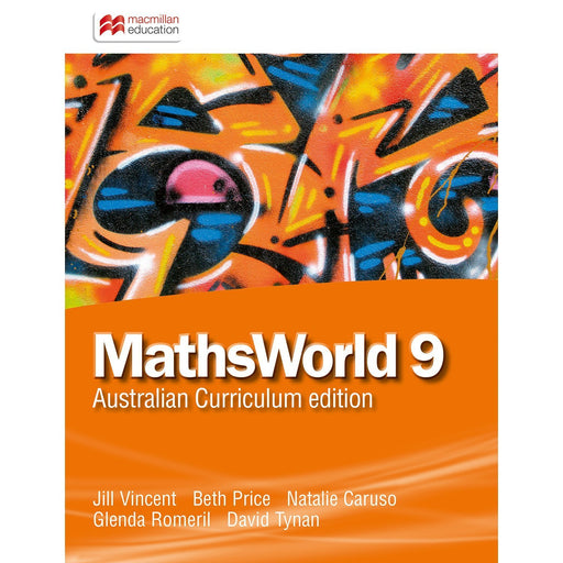 MathsWorld Australian Curriculum 9 Student Book + Digital