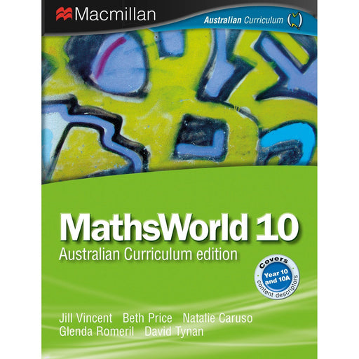 MathsWorld Australian Curriculum 10 Student Book + Digital