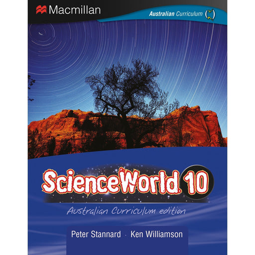 ScienceWorld Australian Curriculum 10 Student Book + Digital