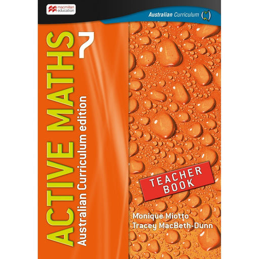 Active Maths Australian Curriculum 7 Teacher Book