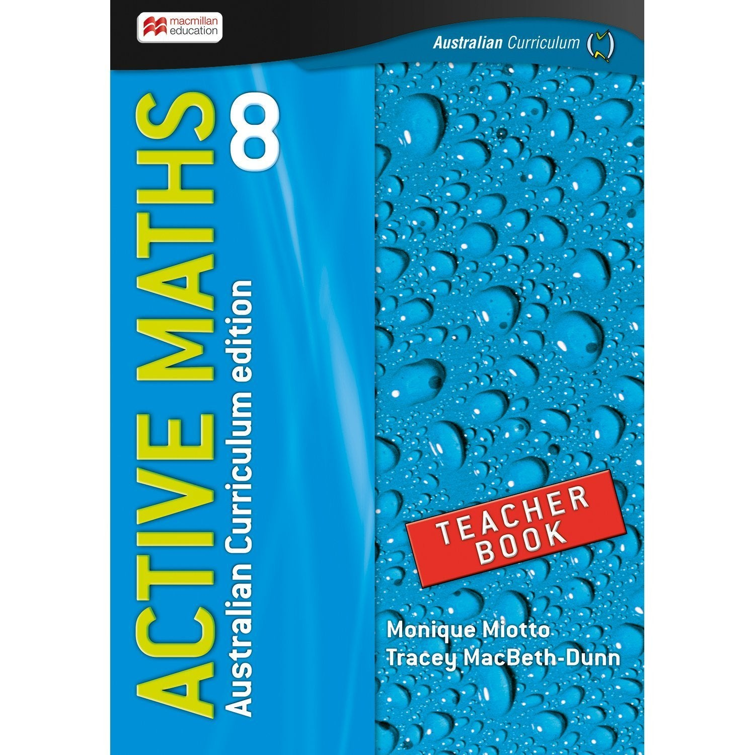 Active Maths Australian Curriculum 8 Teacher Book