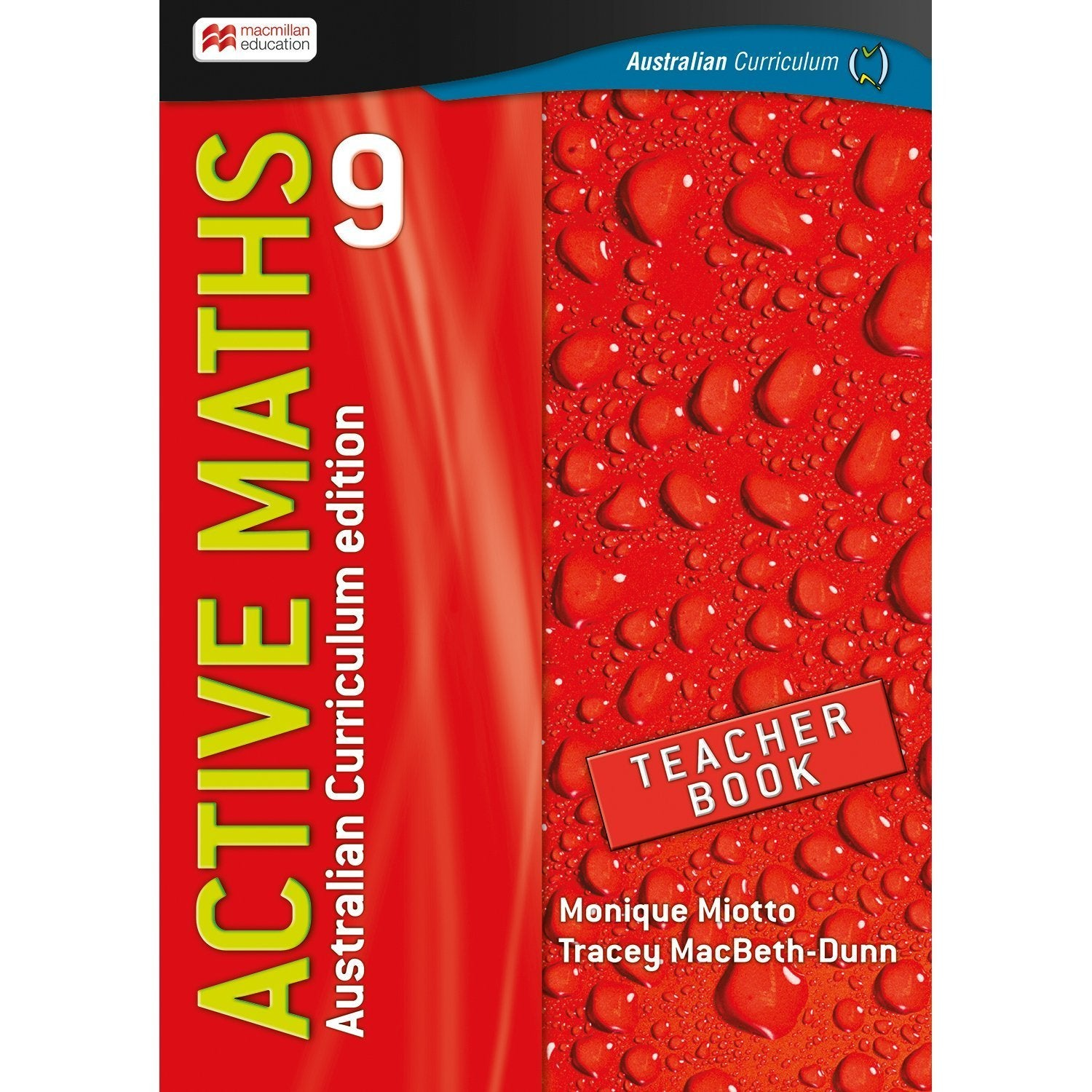 Active Maths Australian Curriculum 9 Teacher Book