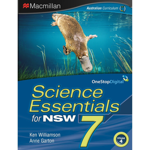 Science Essentials NSW 7 Student Book + Digital
